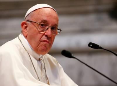 جنگ زدہ علاقوں میں اسلحہ بیچنے پر پوپ فرانسس کی ذمہ دارممالک پر تنقید