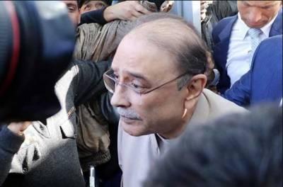 جعلی اکائونٹس کیس:آصف زرداری نے جواب جمع کرانے کیلئے نیب سے مہلت مانگ لی