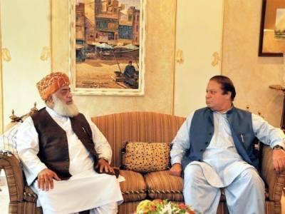 مولانا فضل الرحمان کا نواز شریف سے رابطہ، کل جاتی امراء میں اہم ملاقات ہوگی