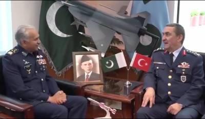 کمانڈر ترک فضائیہ کا ائیر ہیڈ کوارٹرز اسلام آباد کا دورہ
