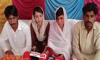 اسلام آباد ہائیکورٹ کی گھوٹکی کی دو نومسلم بہنوں کو شوہروں کے ساتھ جانے کی اجازت