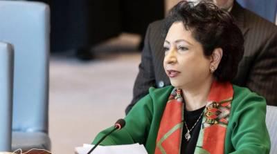 پاکستان نے امن مشنوں کے مینڈیٹ کیلئے اعلیٰ ترین معیارمقررکیاہے:ملیحہ لودھی