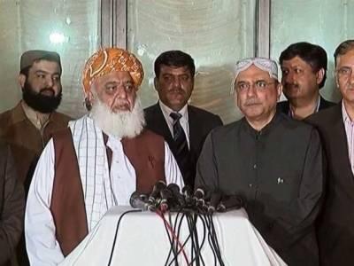 آصف زرداری کی مولانا فضل الرحمان کی عیادت کیلئے انکی رہائشگاہ آمد ،کٹھ پتلی وزیراعظم میں حوصلہ نہیں کہ سیاسی میدان میں مقابلہ کریں:آصف زرداری