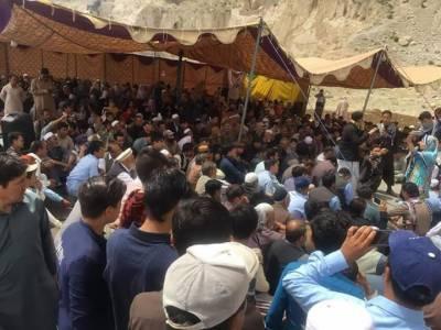 ہزار گنجی دھماکہ، کوئٹہ مغربی بائی پاس پر ہزارہ قبیلے کا تیسرے روز بھی دھرنا جاری