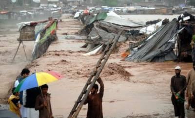 بلوچستان میں طوفانی بارش کے بعد ندی نالے بپھر گئے,3 بچوں سمیت 4افراد جاں بحق