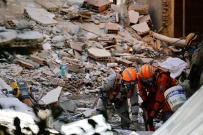برازیل میں2 عمارتیں زمین بوس ہونے سے8افراد ہلاک
