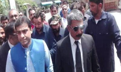 اپوزیشن لیڈر پنجاب اسمبلی حمزہ شہباز کی نیب لاہور میں آج پھر طلبی