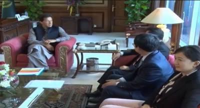 وزیراعظم سے چائنہ سلک روڈ کے چیئرمین کی ملاقات