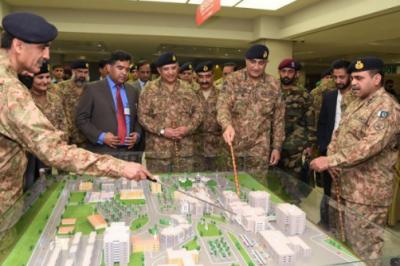 آرمی چیف نے سی ایم ایچ راولپنڈی میں نئے بلاکس کا افتتاح کردیا
