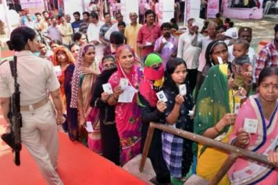بھارت:عام انتخابات کے دوسرے مرحلے میں ووٹنگ آج ہو گی
