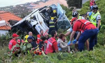 پرتگال:بس حادثے میں 28 سیاح ہلاک،متعدد زخمی