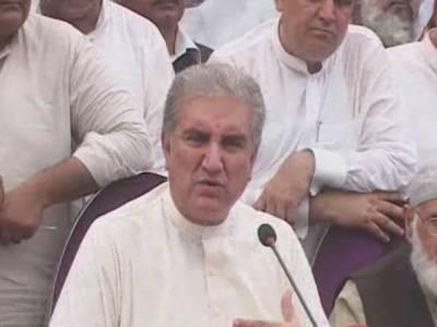 اسد عمر تحریک انصاف کا حصہ تھے ہیں اور رہیں گے، تحریک انصاف میں کوئی گروپ بندی نہیں ہے : شاہ محمود قریشی