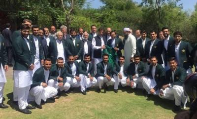 وزیراعظم عمران خان سے پی سی بی حکام اور قومی ٹیم کی ملاقات
