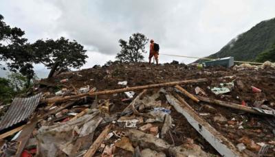 کولمبیا: لینڈسلائیڈنگ سے17افرادہلاک