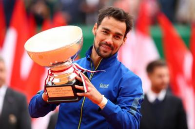اٹلی کے فابیو فوگنینی نے مونٹی کارلو ماسٹرز ٹینس ٹورنامنٹ جیت لیا