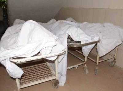 مردان:سفاک شخص نے گھریلو تنازعہ پرکلہاڑی کے وارسےاپنی بیوی ،باپ اوربیٹی کو قتل کر دیا