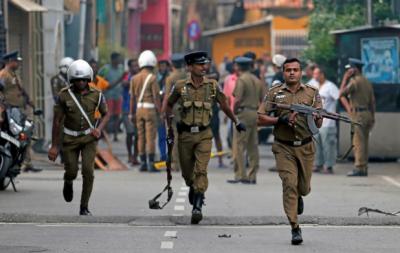 سری لنکا دھماکے: 40 مشتبہ افراد گرفتار، ہلاکتیں 310 ہوگئیں