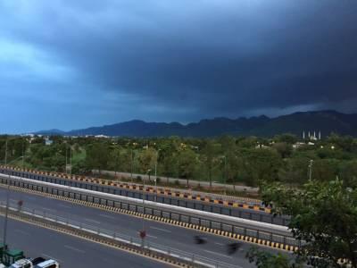 ملک کے بیشتر علاقوں میں بارش کی پیش گوئی:محکمہ موسمیات