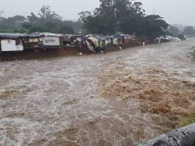 جنوبی افریقہ میں سیلاب اور بارشوں سے 23افراد ہلاک