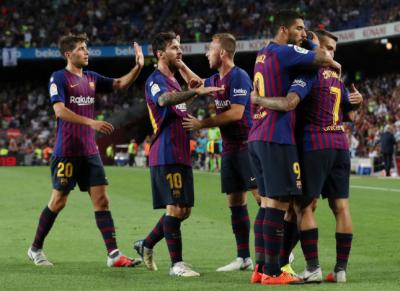 اسپینش لیگ لالیگا : بارسلونا نے الاویز کو شکست دیدی