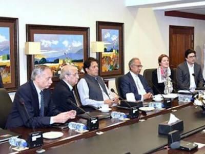 وزیر اعظم عمران خان کی یورپین کاروباری گروپ کے وفد سے گفتگو