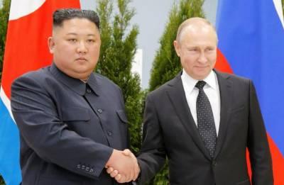 کم جونگ ان کی روسی صدر ولادی میر پیوٹن سے ملاقات