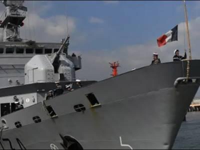 چین کا فرانسیسی بحری جہاز آبنائے تائیوان میں داخل ہونے کی کوشش پر فرانس سے احتجاج