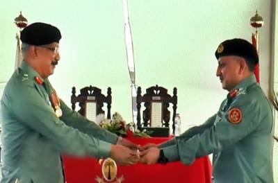 میجر جنرل عمر احمد بخاری نے ڈی جی رینجرز سندھ کا عہدہ سنبھال لیا