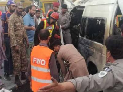 اسلام آباد ٹول پلازہ کے قریب اندوہناک حادثہ، 12 مسافر جاں بحق