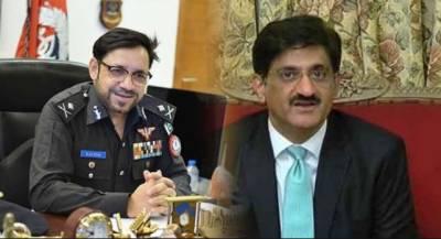 اختیارت کی جنگ شدت اختیار کرگئی:وزیراعلیٰ سندھ اور آئی جی کلیم امام پھر آمنے سامنے