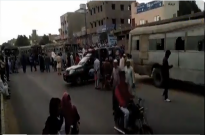 کراچی: پاکستان اسٹیل ملز کے ملازمین کا احتجاج ، نیشنل ہائی وے بند