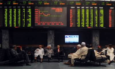 پاکستان اسٹاک ایکسچینج میں کاروبار کے آغاز پر منفی کے بعد مثبت رجحان، 100انڈیکس میں 190پوائنٹ کا اضافہ
