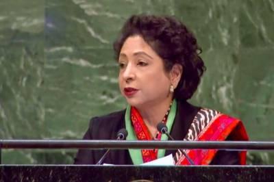 دیرپا امن کیلئے امن مشنزکیساتھ سیاسی مذاکرات کا عمل بھی شروع ہونا چاہئے :ملیحہ لودھی