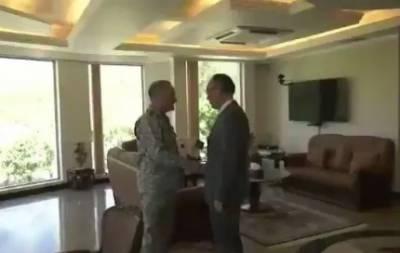 جاپانی سفیر کی نیول چیف سے ملاقات باہمی دلچسپی اور علاقائی سیکیورٹی کے امور پر تبادلہ خیال