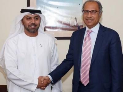 پاکستان اورمتحدہ عرب امارات معاشی اور تجارتی تعلقات کو مزید مستحکم بنانے پرمتفق