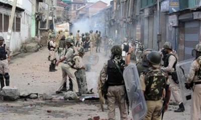 مقبوضہ کشمیر: بھارتی ریاستی دہشت گردی جاری، 5کشمیری نوجوان شہید
