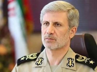 امریکا اسرائیل اتحاد کو شکست دیں گے:ایرانی وزیر دفاع