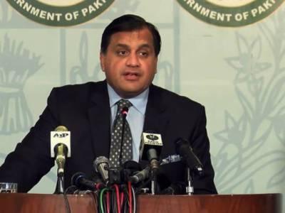 امریکا اور ایران اپنے تنازعات مذاکرات سے حل کریں، خلیج میں رونما ہونے والے سیاسی تنائو پریشان کن ہیں: پاکستان