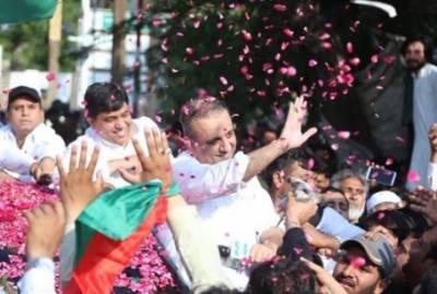 علیم خان کوٹ لکھپت جیل سے رہا ، عمران خان کا ہر صورت ساتھ دوں گا:علیم خان