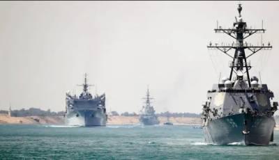 امریکی جہاز ایرانی میزائلوں کے نشانے پر ہیں:پاسداران انقلاب