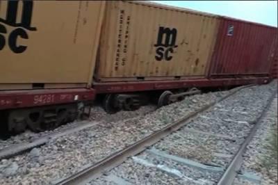 پڈعیدن میں ریلوے ٹریک 32گھنٹے بعد بحال،مختلف اسٹیشنز پر کھڑی ٹرینیں روانہ
