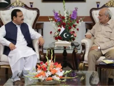 وزیراعلیٰ پنجاب سے وفاقی وزیر داخلہ کی ملاقات، امن و امان اورسکیورٹی صورتحال کو مزید بہتر بنانے کے اقدامات پر تبادلہ خیال