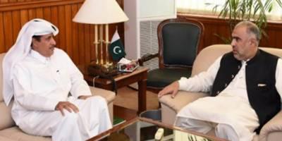 پاکستان قطر کے ساتھ اپنے برادانہ تعلقات کو بڑی اہمیت دیتا ہے، پارلیمانی اور اقتصادی تعلقات کو فروغ دے کر موجودہ تعلقات کو مزید مستحکم بنانے کا خواہاں ہے:اسپیکر قومی اسمبلی