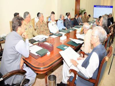 وزیراعظم کی زیر صدارت قومی سلامتی کمیٹی کا اجلاس،قومی سلامتی کمیٹی کا معاشی استحکام کیلئے اقدامات کی مکمل حمایت کا اظہار