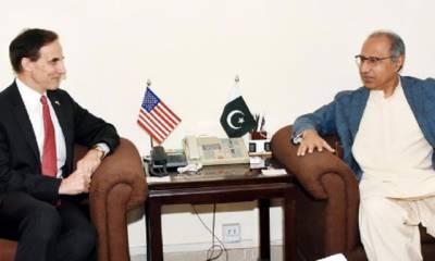 پاکستان سرمایہ کاری کے لئے سازگار ماحول کی پیشکش کرتا ہے، امریکی تاجروں کو سرمایہ کاری کے ان مواقع سے استفادہ کرنا چاہئے: ڈاکٹر عبدالحفیظ شیخ