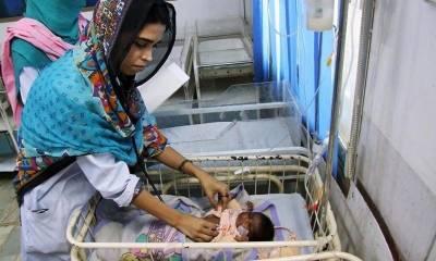 تھرپارکر: سول اسپتال مٹھی میں مزید تین بچےہلاک, رواں سال تعداد 313 ہو گئی