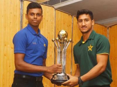 پاکستان انڈر19کرکٹ ٹیم دورہ سری لنکا میں کل اپنا پہلا میچ کھیلے گی