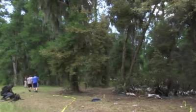 امریکی ریاست جارجیا میں چھوٹا طیارہ گرکرتباہ,پائلٹ ہلاک