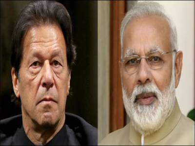 عمران خان کا بھارتی وزیر اعظم مودی سے ٹیلی فون پر رابطہ، انتخابات میں جیت پر مبارکباد