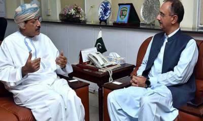 پاکستان اومان کے ساتھ مضبوط سفارتی اور اقتصادی تعلقات کا خواہشمند ہے:عمر ایوب